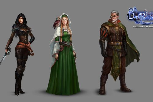 Dark Parables - The Swan Princess and the Dire Tree Characters
