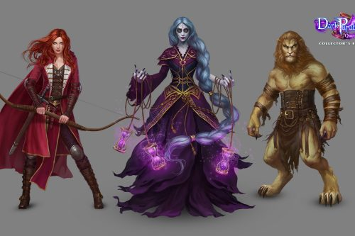 Dark Parables - Queen of Sands Characters